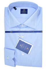 Luigi Borrelli Shirt Royal Collection Light Blue