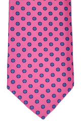 Luigi Borrelli Sevenfold Tie ROYAL COLLECTION Pink