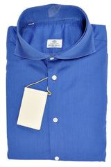 Luigi Borrelli Dress Shirt Navy