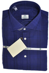 Luigi Borrelli Dress Shirt Lapis Blue SALE
