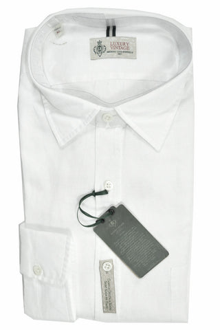 Luigi Borrelli Sport Shirt White XL SALE
