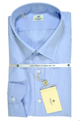 Luigi Borrelli Dress Shirt Light Blue