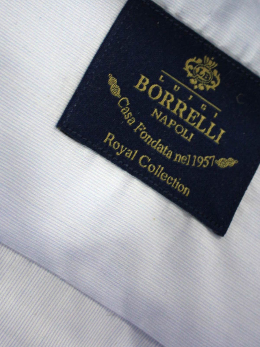 Luigi Borrelli Dress Shirt ROYAL COLLECTION Blue