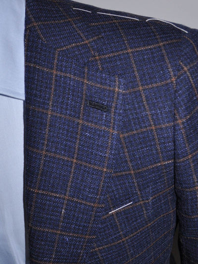 Luigi Borrelli Sport Coat Navy