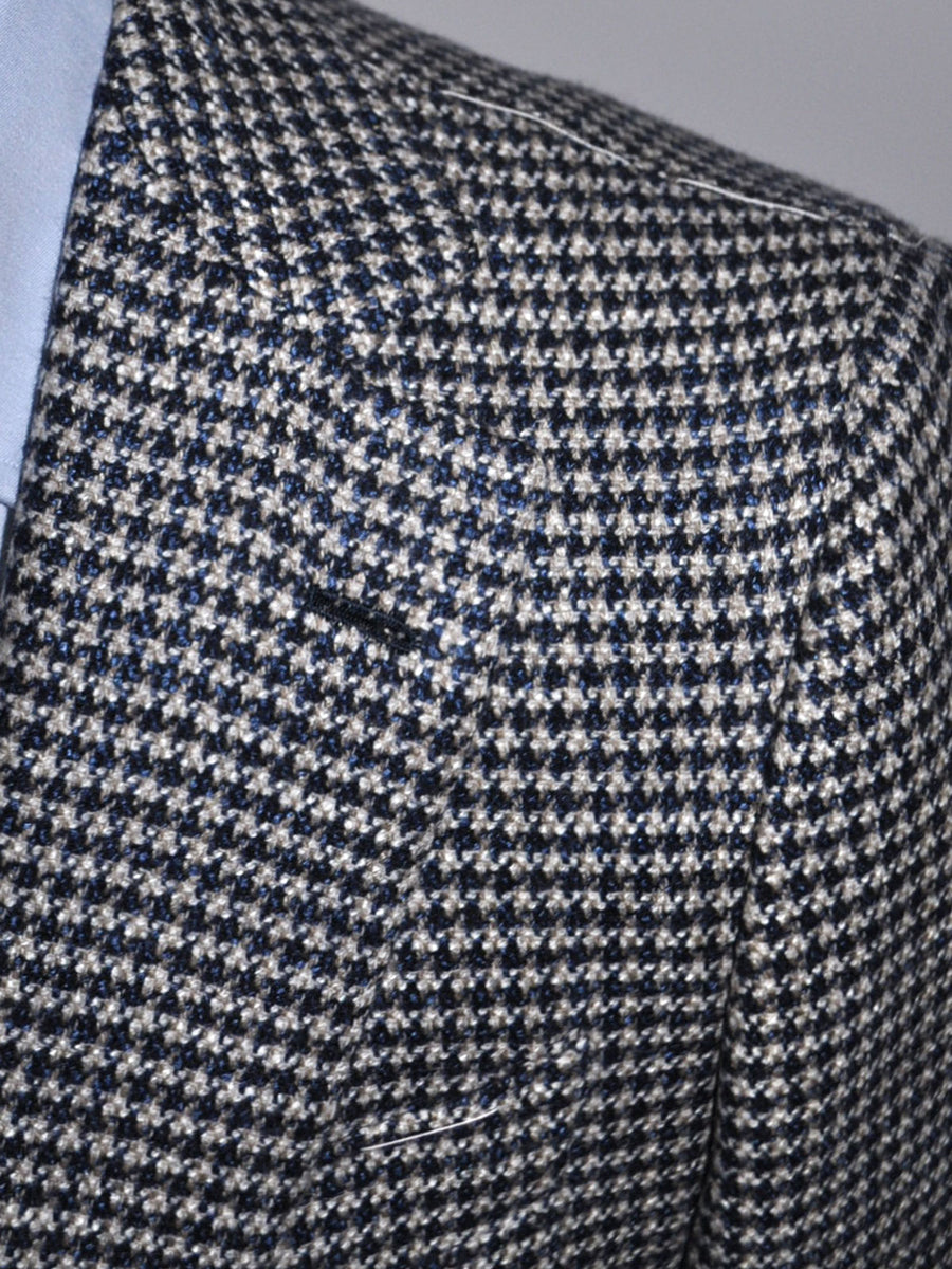 Luigi Borrelli Sport Coat Gray Midnight Blue