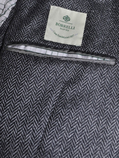 Luigi Borrelli Sport Coat Charcoal Gray