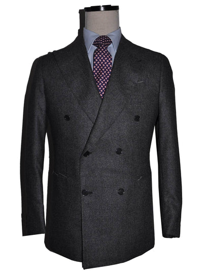 Borrelli Suit ROYAL COLLECTION Charcoal Gray