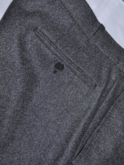 Charcoal Gray Double Breasted Pants