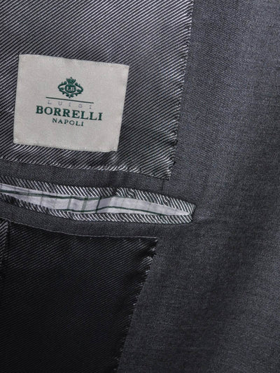 Luigi Borrelli Suit Gray EUR 56 R / US 46