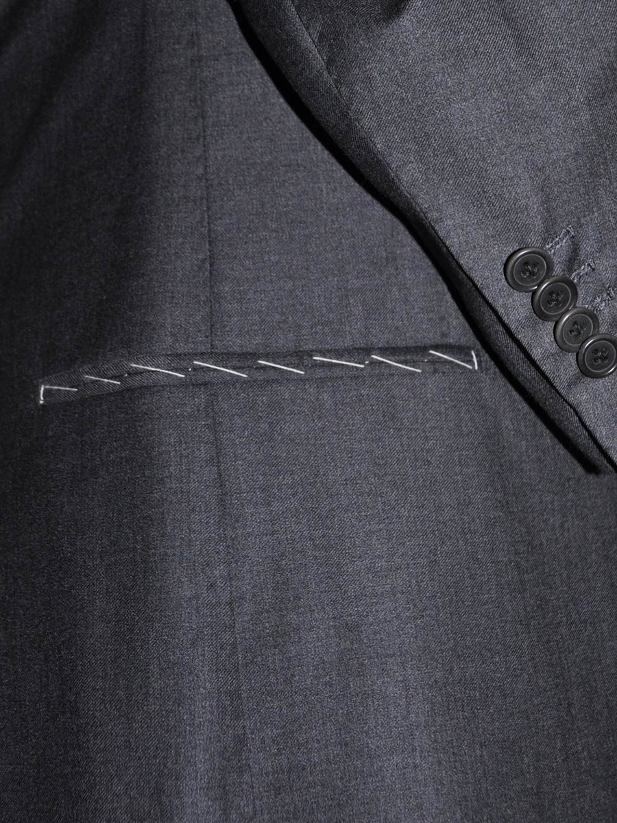 Luigi Borrelli Suit Charcoal Gray