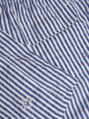 Luigi Borrelli Swim Shorts White Navy Stripes EUR XXL / US XL