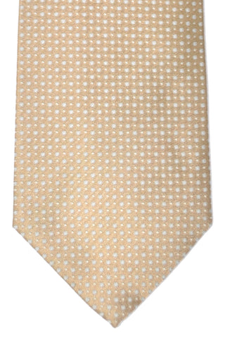 Luigi Borrelli Tie Taupe Gray Silver - FINAL SALE