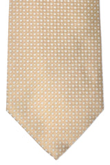 Luigi Borrelli Tie Taupe Gray Silver FINAL SALE