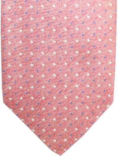 Luigi Borrelli 11 Fold Tie Pink Royal Geometric ROYAL COLLECTION Elevenfold Necktie