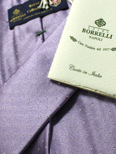 Luigi Borrelli 11 Fold Tie silk ROYAL COLLECTION Elevenfold Necktie