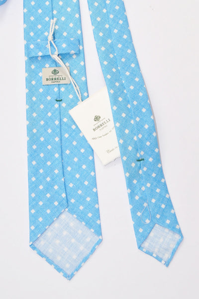 Check Unlined Narrow Necktie