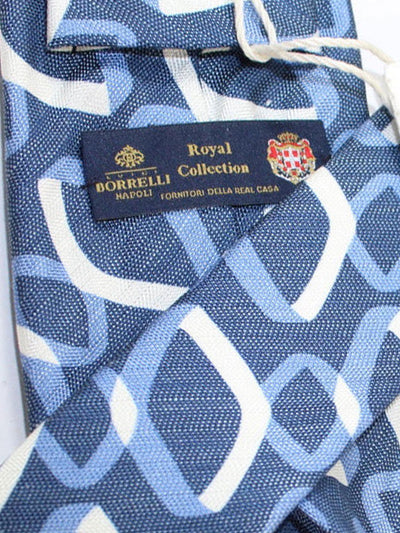 Luigi Borrelli 11 Fold Tie silk ROYAL COLLECTION - Elevenfold Necktie