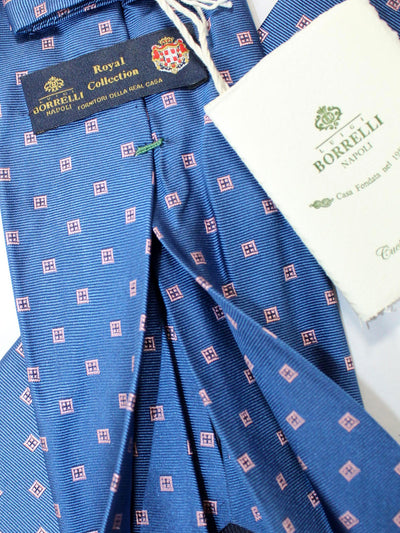 Luigi Borrelli 11 Fold Tie ROYAL COLLECTION Elevenfold Necktie