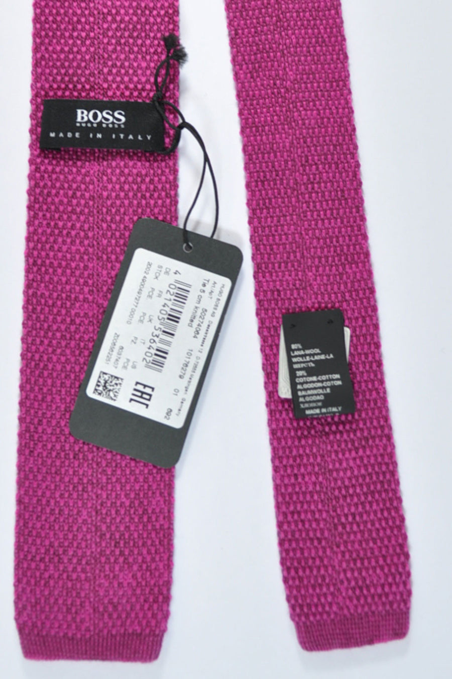 Hugo Boss Square End Knitted Necktie