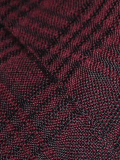 Giovanni Botticelli Wool Scarf Burgundy