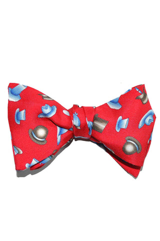 Leonard Bow Tie Red Hat Novelty SALE