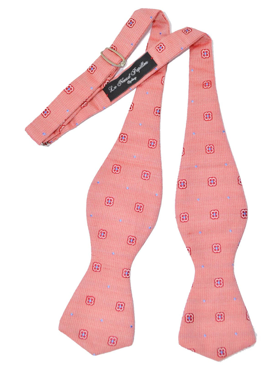 Le Noeud Papillon Bow Tie Pink Red