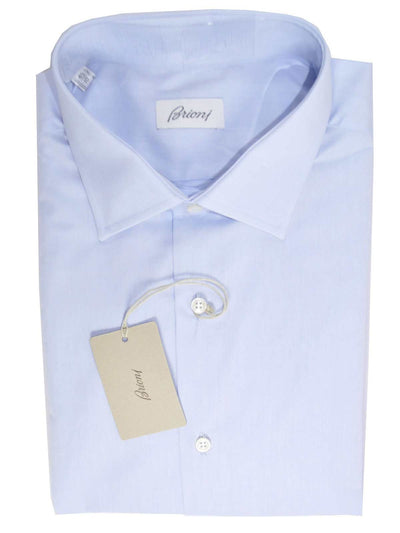 Brioni Shirt Light Blue Dress Shirt