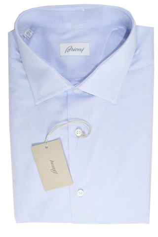 Brioni Dress Shirt Light Blue 40 - 15 3/4