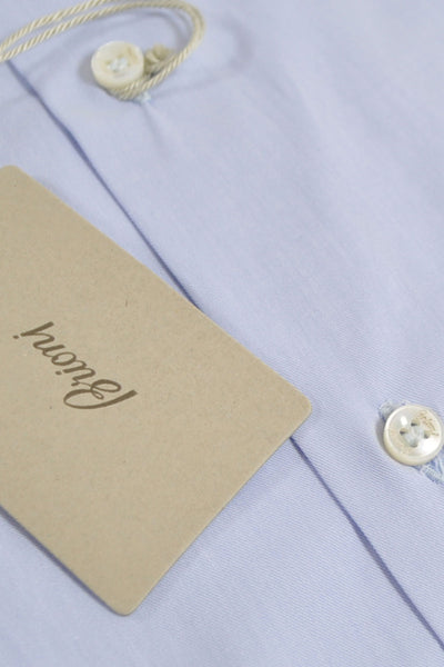 Brioni Shirt Light Blue Dress Shirt 40 - 15 3/4 SALE