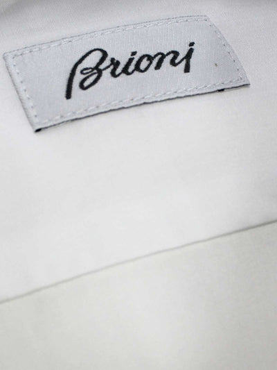 Brioni Dress Shirt White  Regular Fit