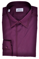 Brioni Dress Shirt Purple
