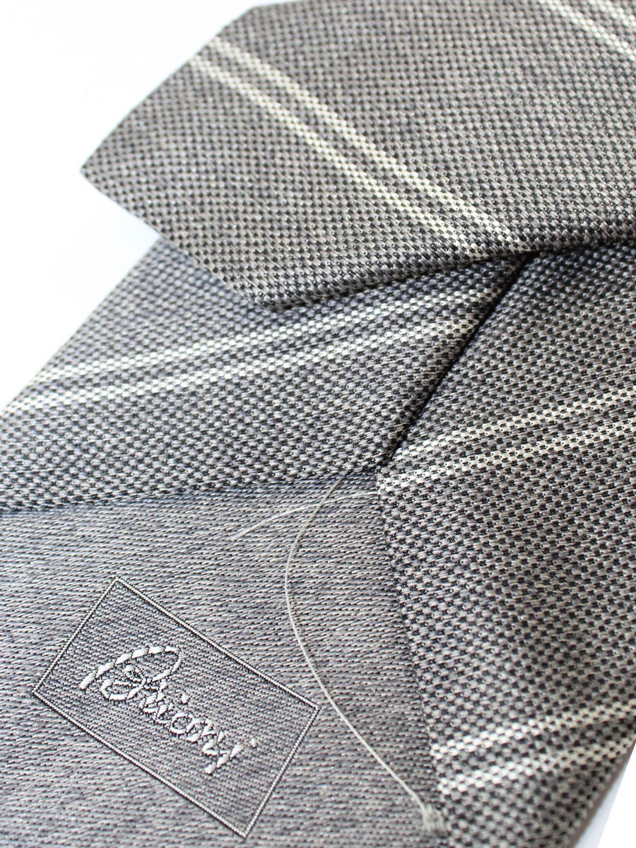 Brioni Tie Gray Stripes SALE