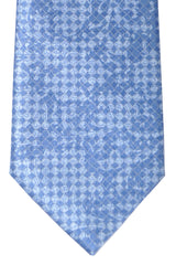 Brioni Tie Midnight Blue Sky Blue Floral