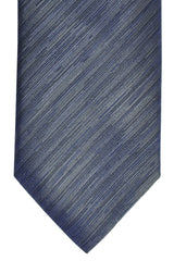 Brioni Narrow Tie Gray Grosgrain