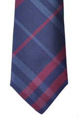 Burberry Tie Nova Check Plaid Navy Beat