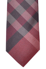 Burberry Tie Check Red Multicolored Manston