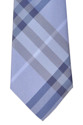 Burberry Tie Check Blue Manston New Classic - Modern Cut