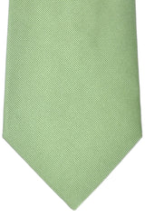 Burberry Tie Green Grosgrain - Wide Necktie