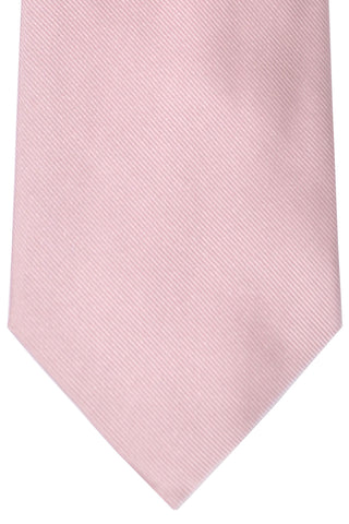 Burberry Tie Light Pink Grosgrain - Wide Necktie