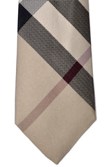 Burberry Tie New Classic Check Beige