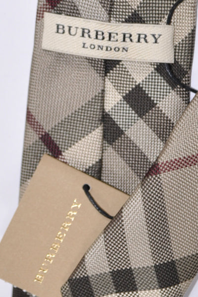 Burberry Tie Smoked Trench Check