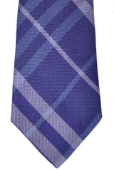 Burberry Tie Purple Signature Check Manston - Modern Cut