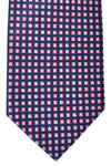 Bvlgari Sevenfold Tie Navy Logo Novelty Tie 2015 Collection
