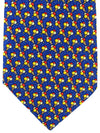 Bvlgari Sevenfold Tie Royal Red Yellow Ice Cream