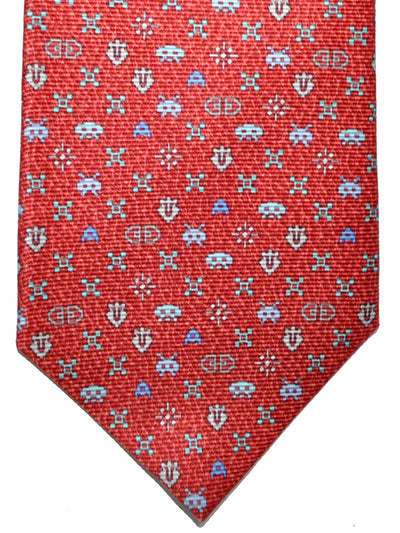Bvlgari Sevenfold Tie Red Computer Game Design