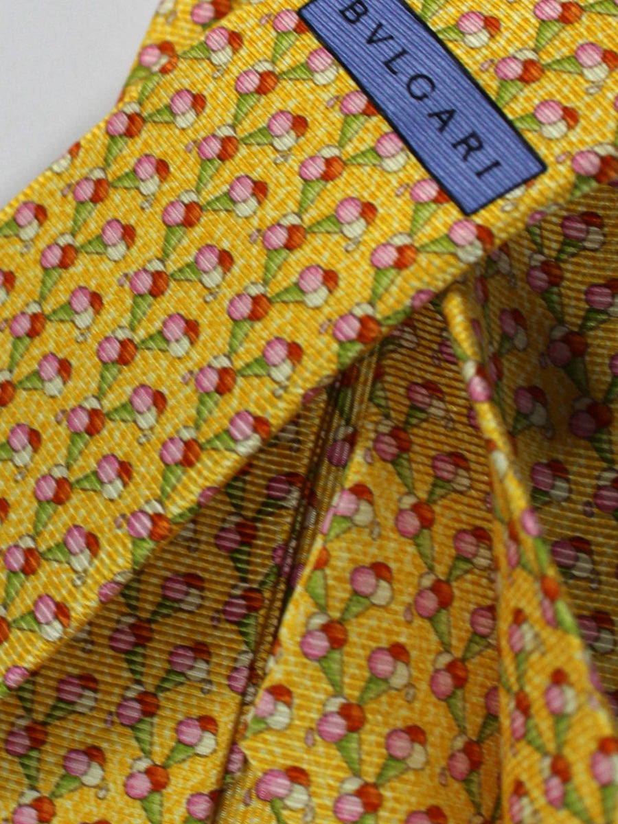 Bvlgari Tie Yellow Ice Cream Novelty Design SALE