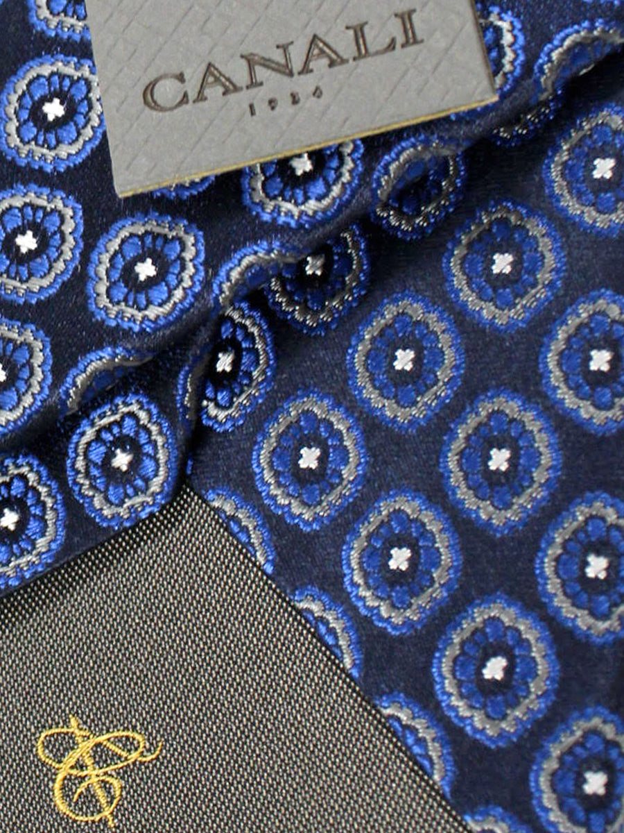 Canali Tie Royal Medallions