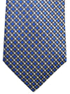Canali Tie Royal Gray Geometric Design