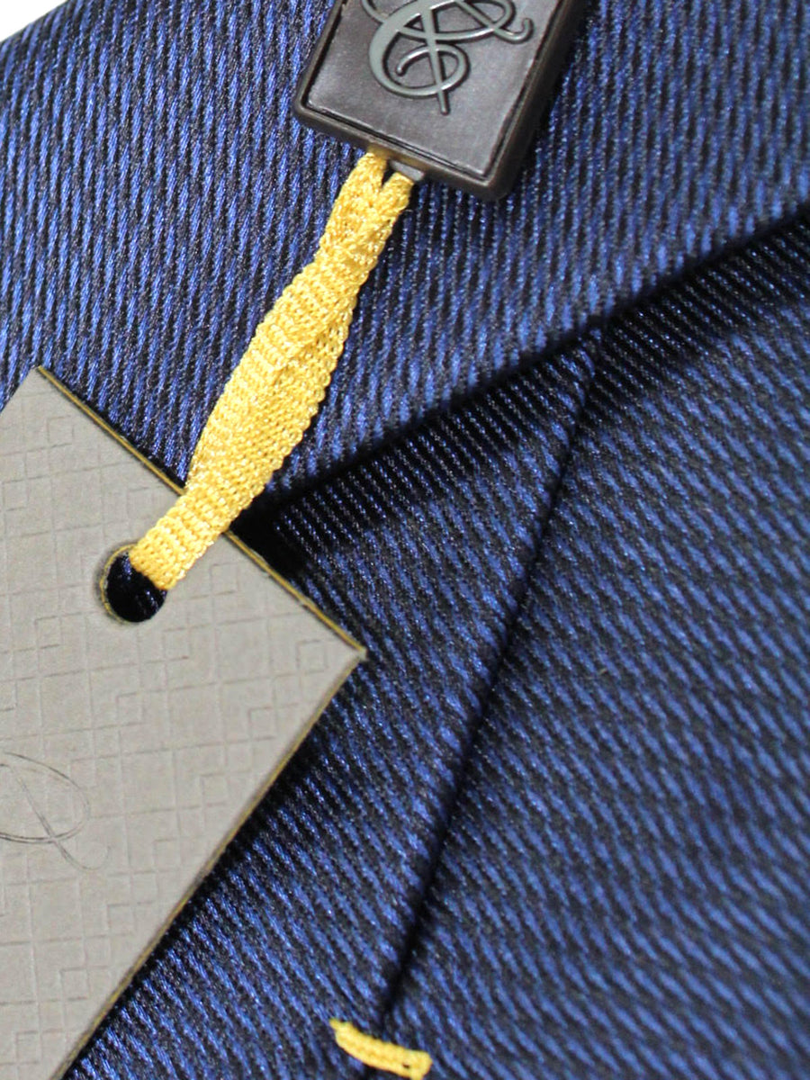 Canali Tie Dark Blue Design