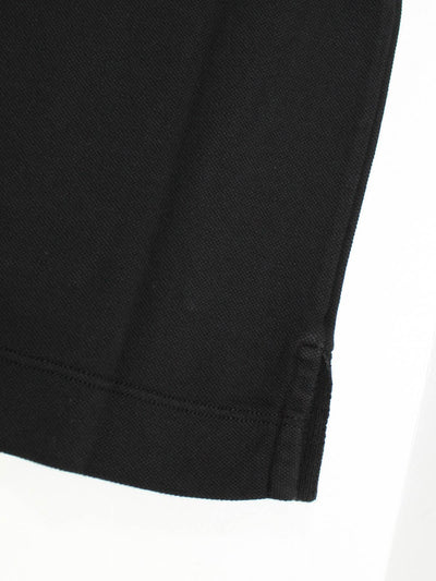 Canali Polo Shirt Black Cotton Short Sleeve Polo Shirt 46 / XS SALE